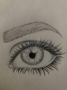 Drawing An Iris Eye Augen Zeichnen Dekoking Com 3 Art Drawings Realistic Eye