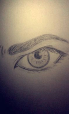 my drawing of an angry eye renee moreno realistic eye drawing drawing