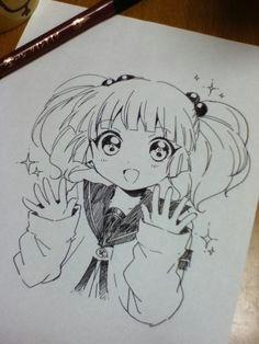 drawing anime eu amo anime kawaii anime anime chibi kawaii girl manga
