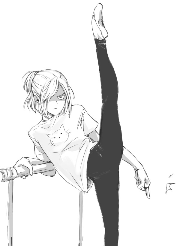 gets legs into a 1 2 3 4 splits how are you doing that