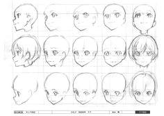 hill climb girl japan anima tor s exhibition face angles head