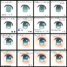 draw tears on an anime eye digital art tutorial manga drawing draw eyes