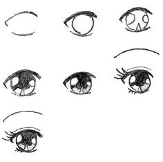 Drawing Anime Eyes Easy 78 Best A Study Eyes Images Drawing Techniques Drawing Faces