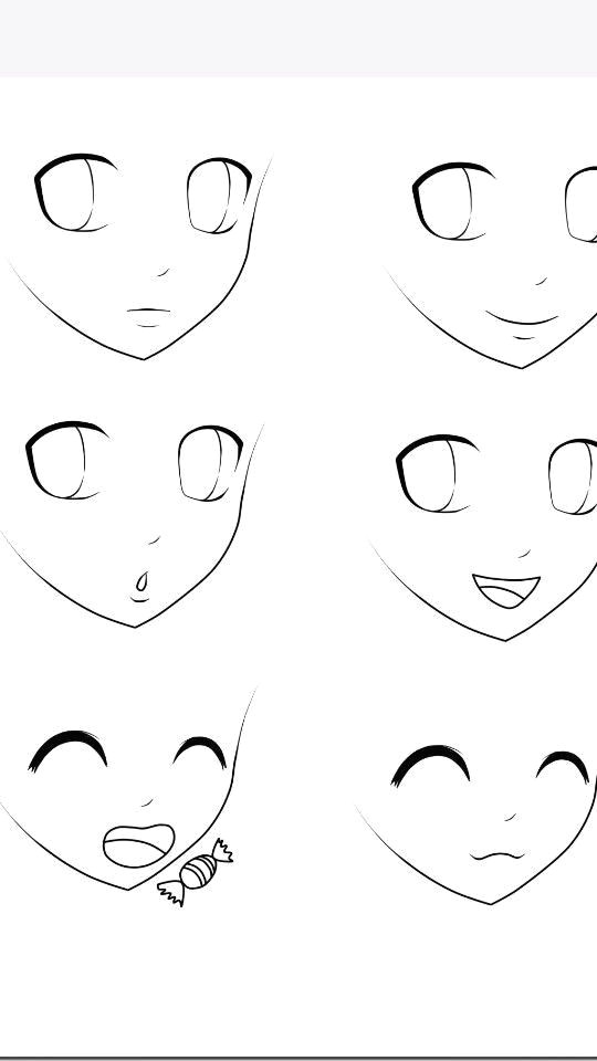 anime expressions facial expressions how to draw anime eyes how to draw faces