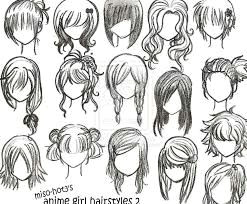 how to draw anime hair step by step for beginners google search e i i e e c