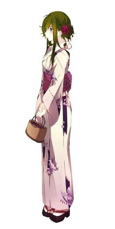 nyx in a kimono source kagerou project anime girl kimono manga
