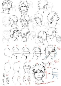 Drawing Anime Heads at Different Angles 61 Best How to Draw Anime Faces Images Drawings How to Draw Anime