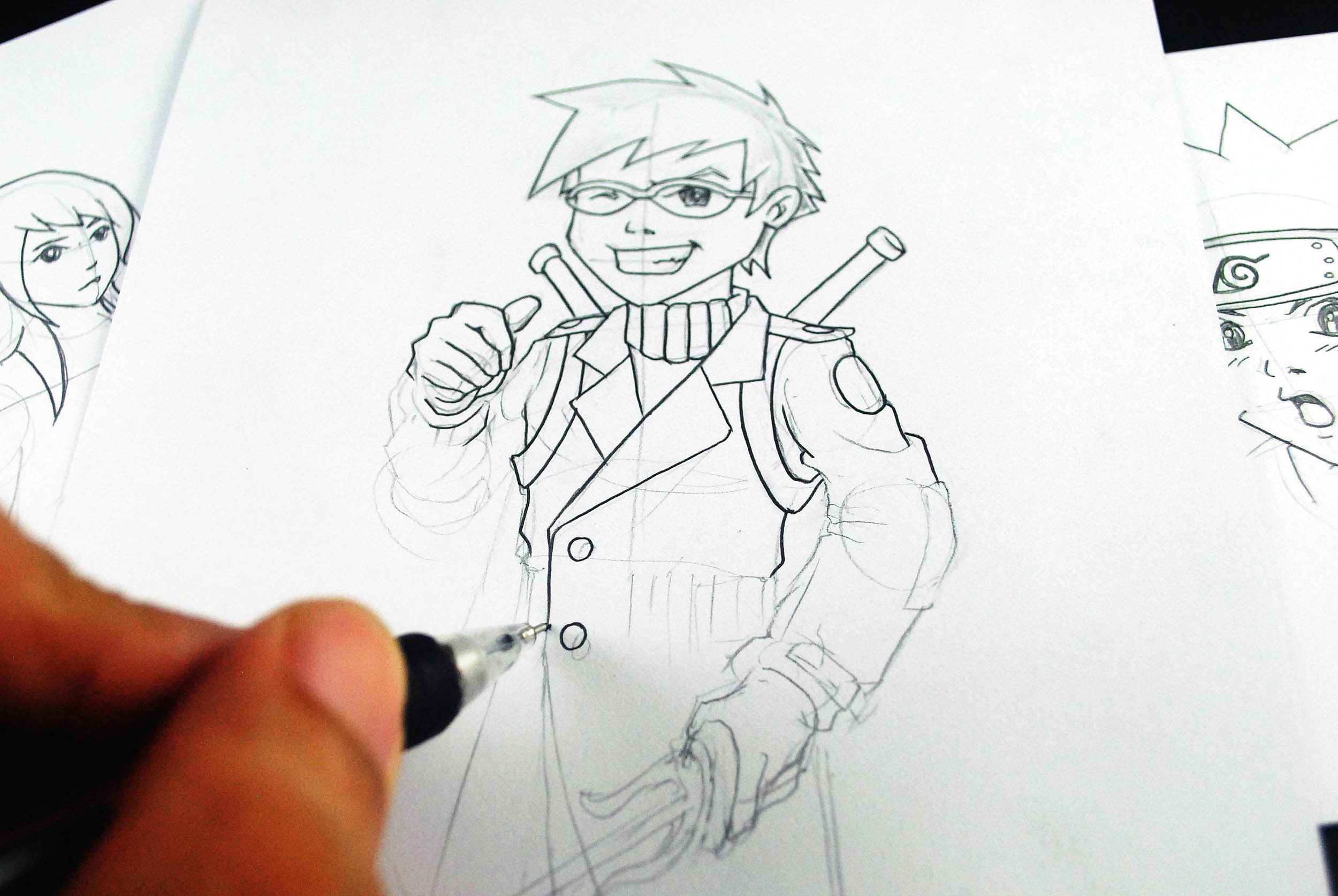 how to learn to draw manga and develop your own style