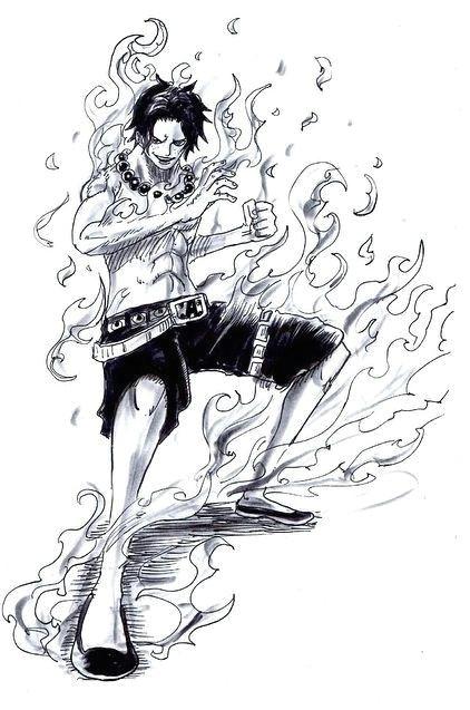 firefist ace one piece ace one piece luffy one piece manga