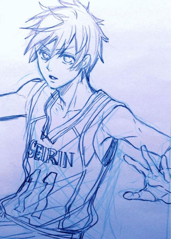 kuroko sketch by yana toboso kuroshisuji s creator on her blog