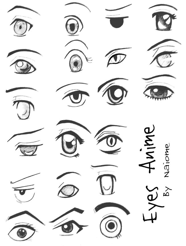 anime eyes by naiome san on deviantart