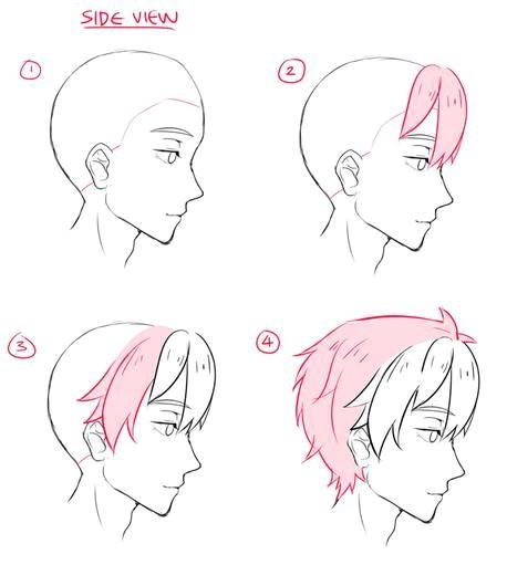 anime hair male anime male base anime boy base male manga manga