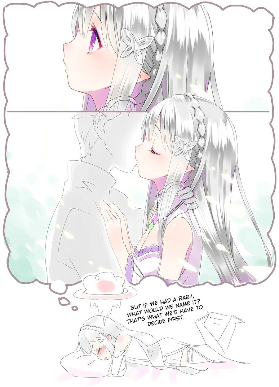 what to name the baby rezero anime