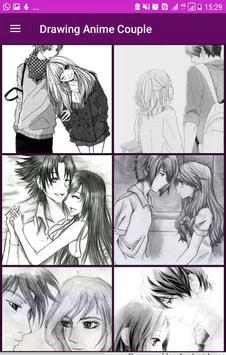 wie zeichne anime couple plakat wie zeichne anime couple screenshot 1