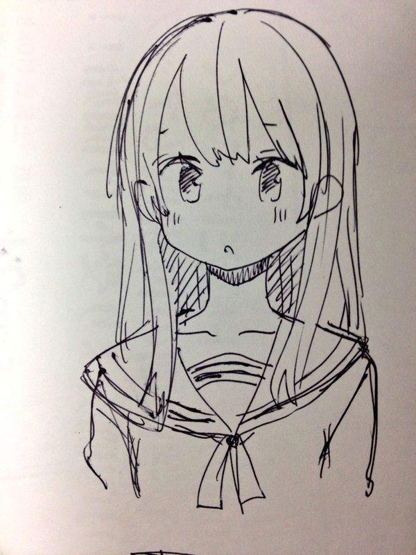 Drawing Anime Practice A A A A A A A A C A Amatou111 A A Twitter Draw Pinterest