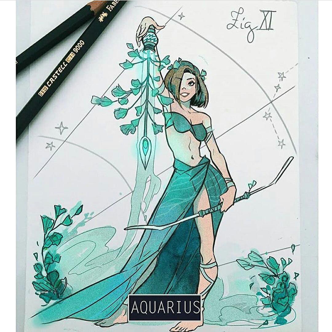 whats your zodiac sign follow shiranou for more artist picolo