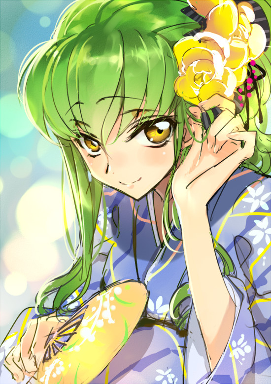 kawaii yellow flowers code geass code geass manga anime anime