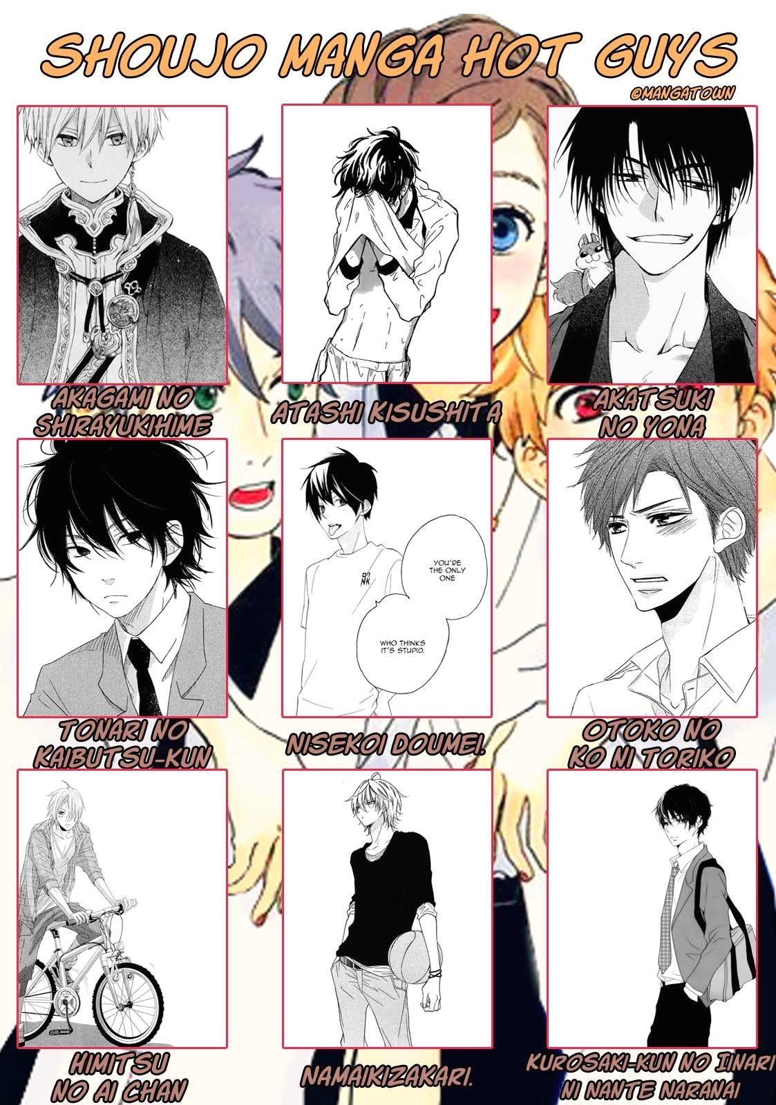 manga to read shoujo manga hot guys