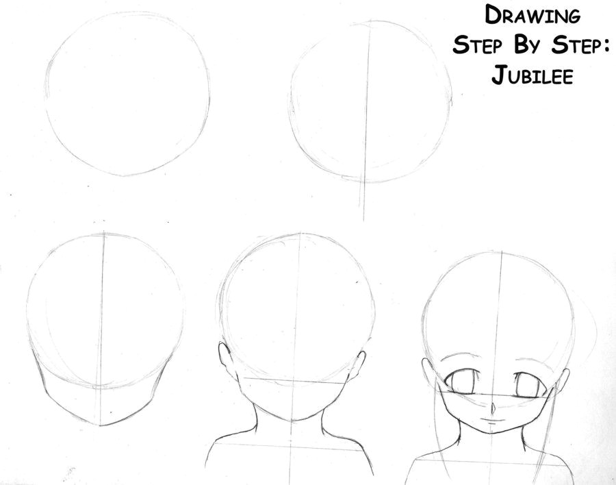 anime step by step drawing head drawing anime steps page 1 by emeeems on deviantart