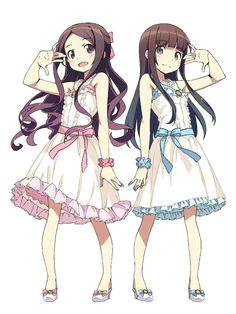 anime twins anime girl brown hair anime songs anime family anime outfits