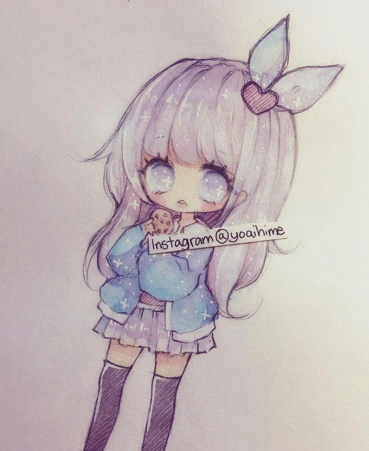 yoaihime in bu instagram fotoa rafa na gor 22 8b bea enme kawaii drawings chibi