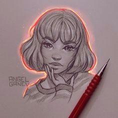 dessins et lumia re par angel ganev dessein de dessin manga anime art drawings drawing
