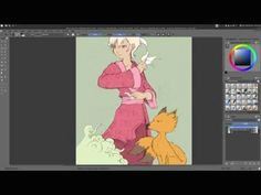 krita 2 9 tutorial part1 2 gmic colorize interactive
