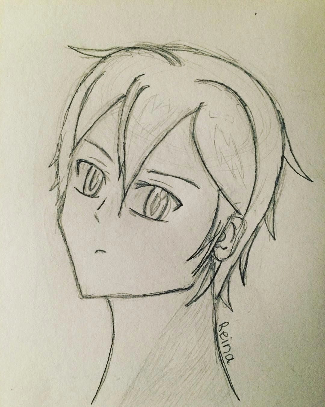 another anime drawing reina tags art artwork drawing draw cartoon anime sao swordartonline kirito asuna sketch sketchbook pencil