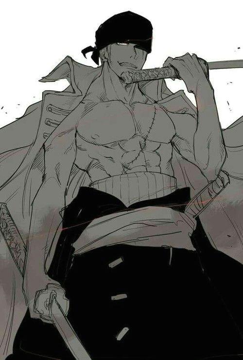 anime badass and one piece image