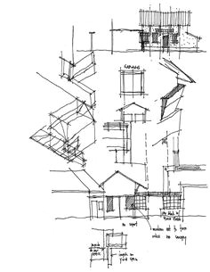 bob borson from life of an architect architecture sketches architect drawing