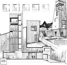 architecture drawing tumblr