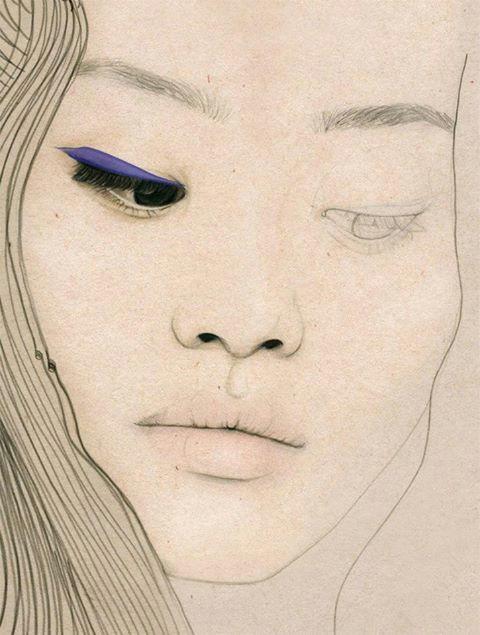 Drawing asian Eyes Elisa Mazzone Illustration Art In 2019 Pinterest