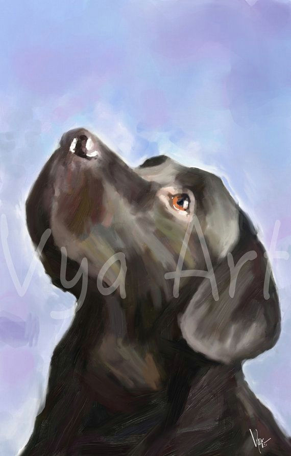 4 th of july black labrador gun dog print retriever fine by vyaart