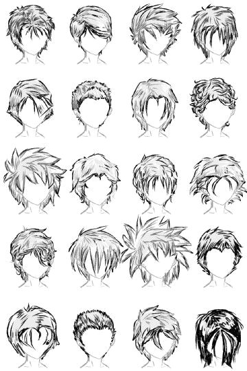 Drawing Boy Eyes 20 Male Hairstyles by Lazycatsleepsdaily On Deviantart Drawing