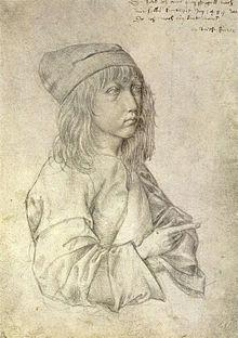 albrecht durer self portrait at the age of 13