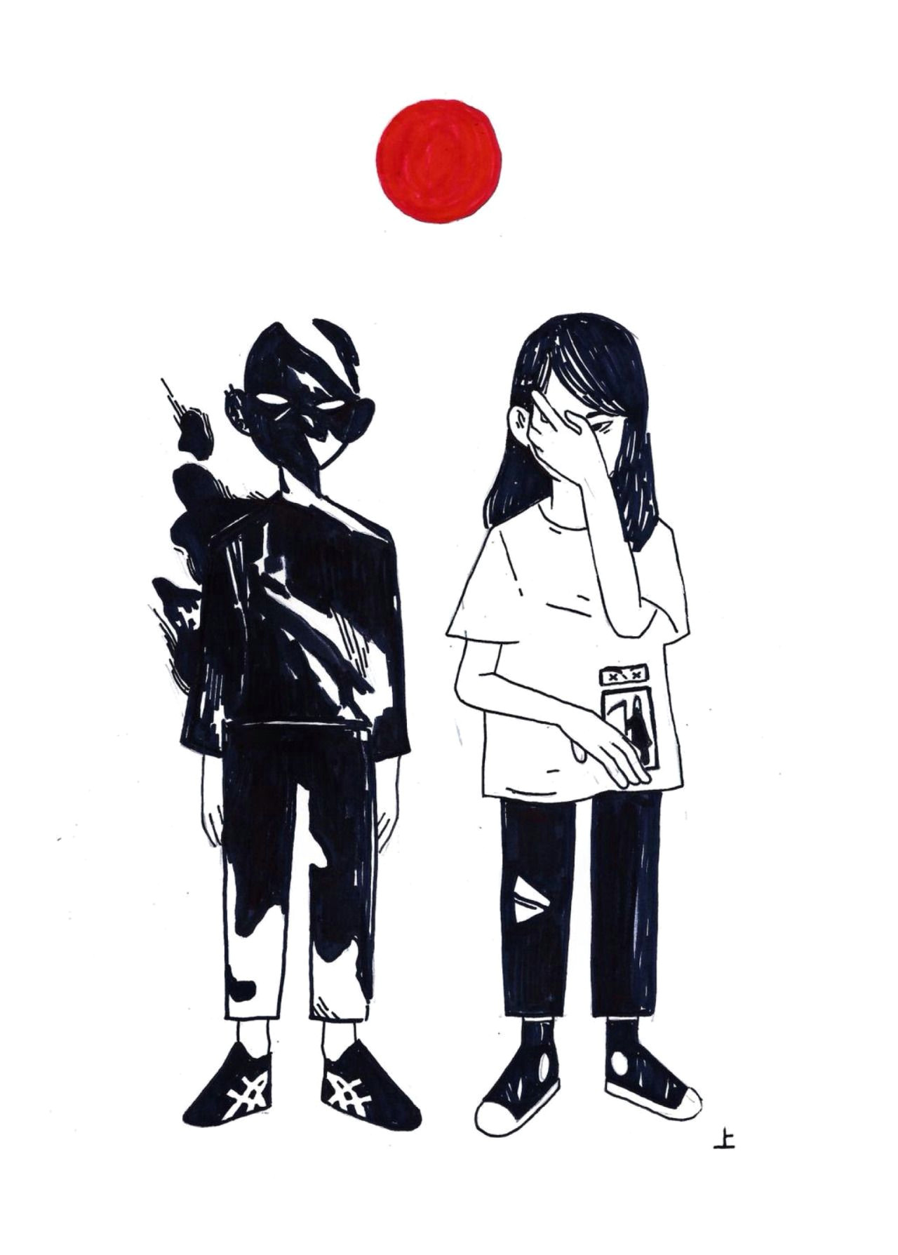 kinorinsama apparition inktober 13 epic drawings cartoon drawings design reference