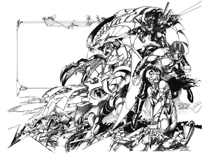 weapon zero 15 by joebenitez d3jocg1 jpg 711a 520 top cow comic drawing