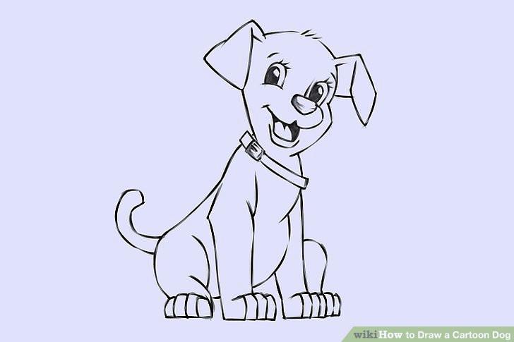 image titled draw a cartoon dog step 24