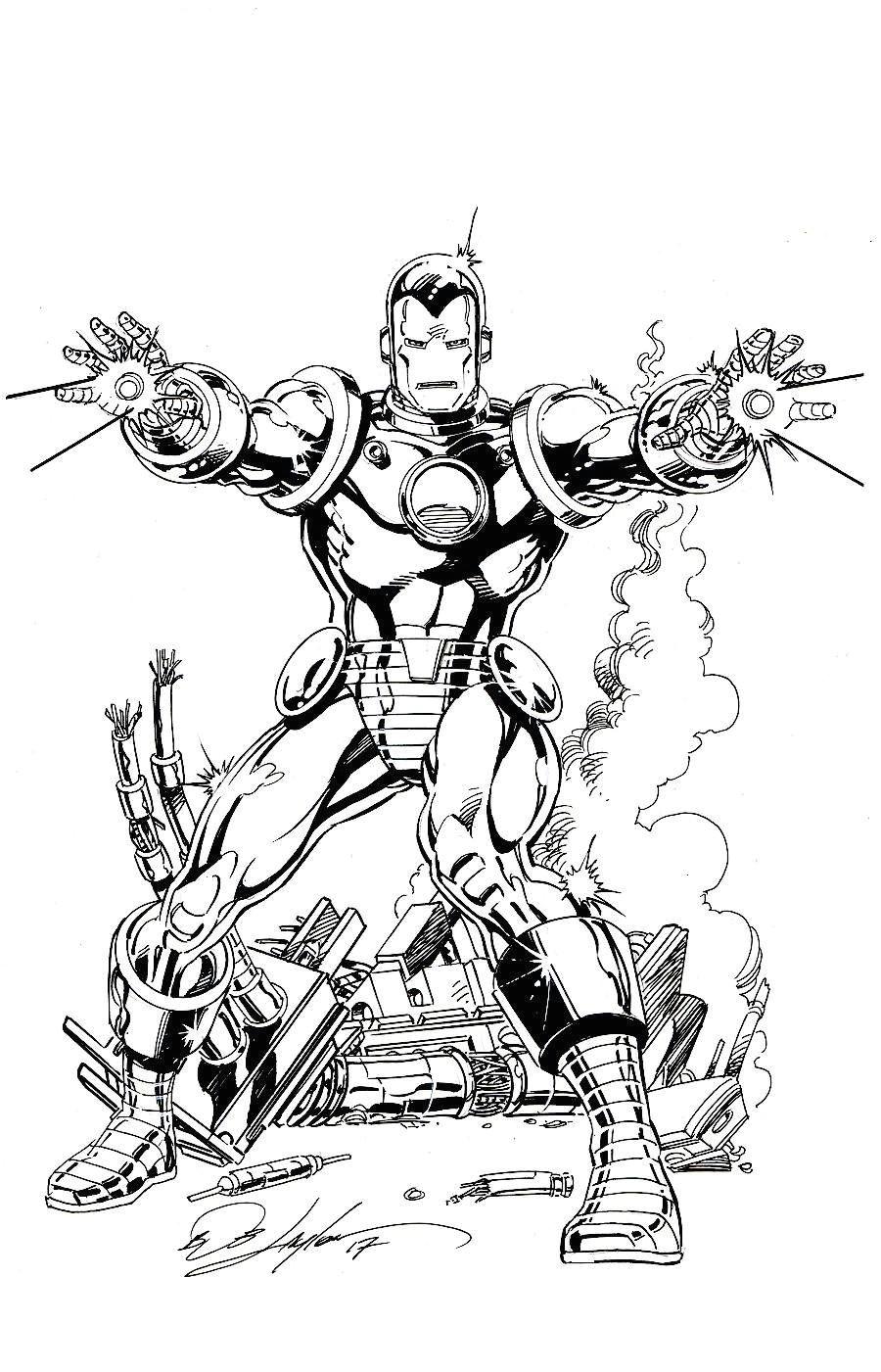 iron man by bob layton livros marvel comics vingadores da marvel arte em quadrinhos