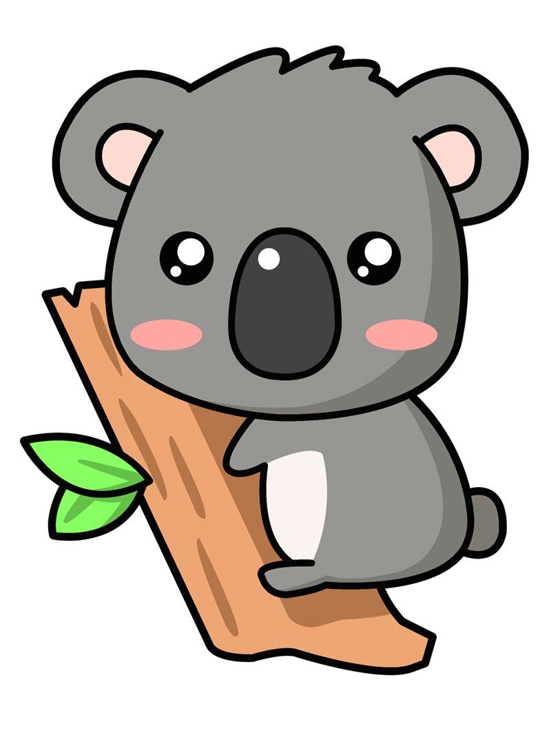Drawing Cartoon Koala A Cute Koala Koalas Pinterest Cartoon Clip Art and Art