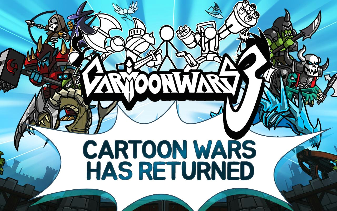 description cartoon wars is back come see why over 80 million users worldwide have played this legendary series prepare yourself to be drawn into the