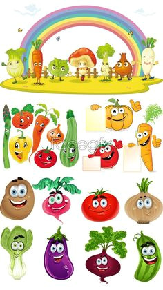 cartoon vegetables vector vegetable cartoon cartoon vegetables cartoon drawings cute drawings bullet