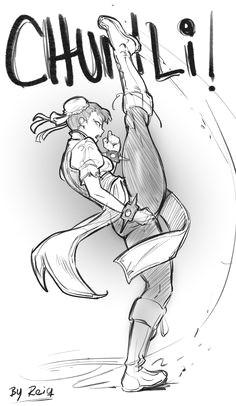 chun li kicks