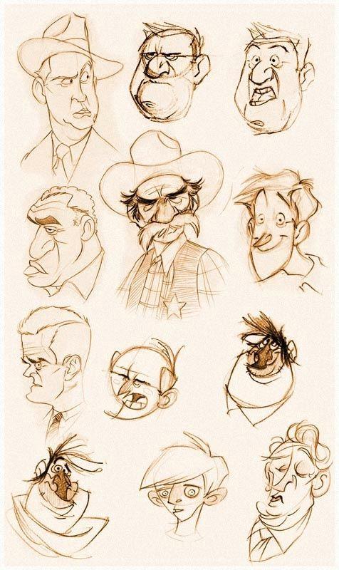 faceslowres cartoon male old man cartoon cartoon characters sketch character sketches character