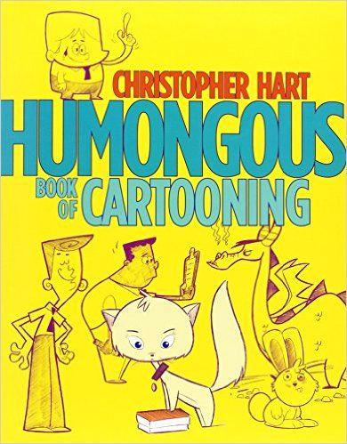 amazon com humongous book of cartooning 8601421681605 christopher hart books