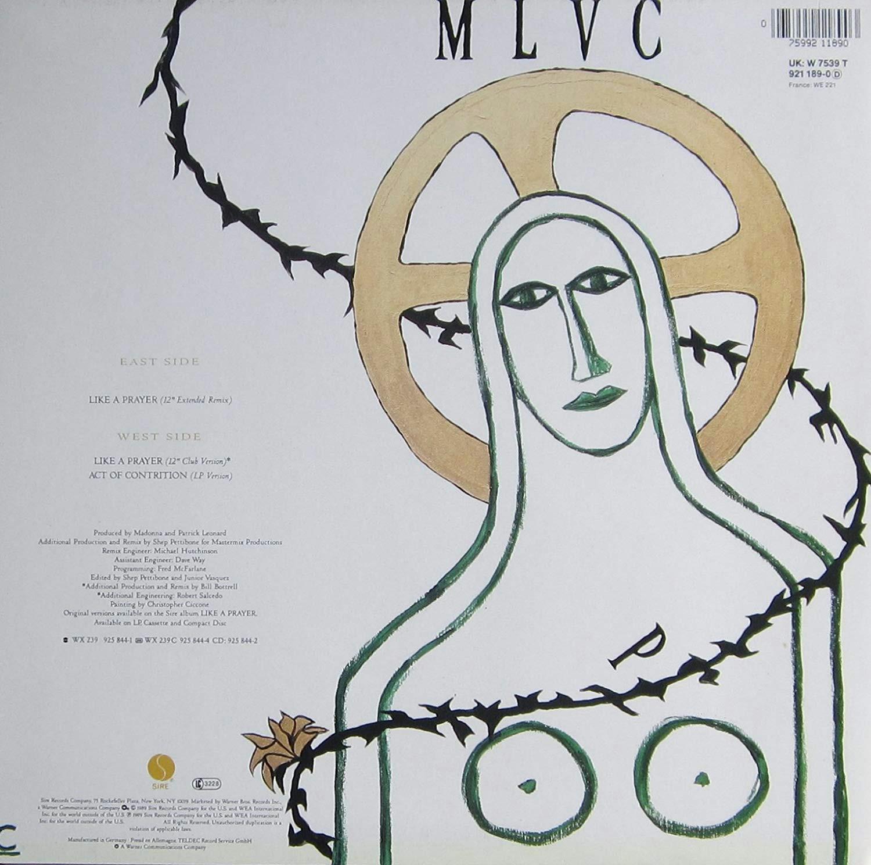 like a prayer ext remix 1989 vinyl single madonna amazon de musik