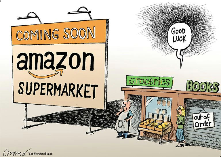 when amazon comes to town the new york times