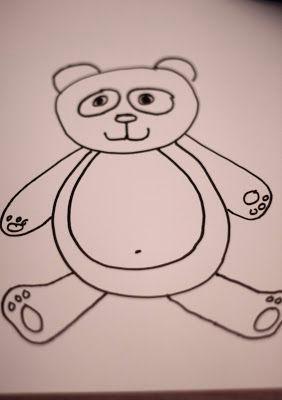 how to draw a panda bear fairy dust teaching