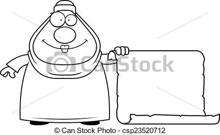 cartoon muslim sign csp23520712