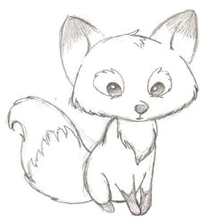 111 insanely creative cool things to draw today fun easy drawings fox drawing easy